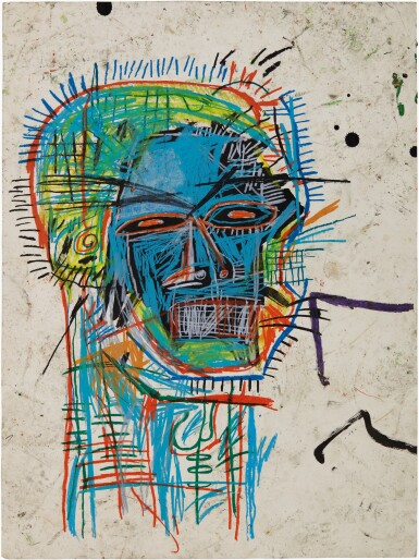 View full screen - View 1 of Lot 103. JEAN-MICHEL BASQUIAT | UNTITLED (HEAD).