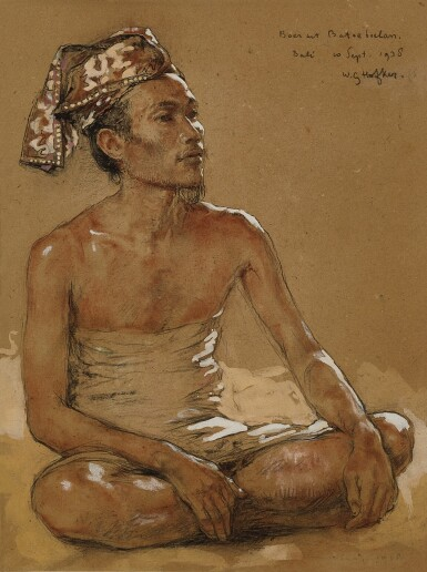 View 1. Thumbnail of Lot 4554. Boer uit Batoeboelan (Farmer from Batubulan) | 來自巴圖布蘭的農民.
