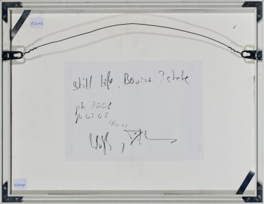 View 3. Thumbnail of Lot 43. 'Still Life, Bourne Estate', 2002.