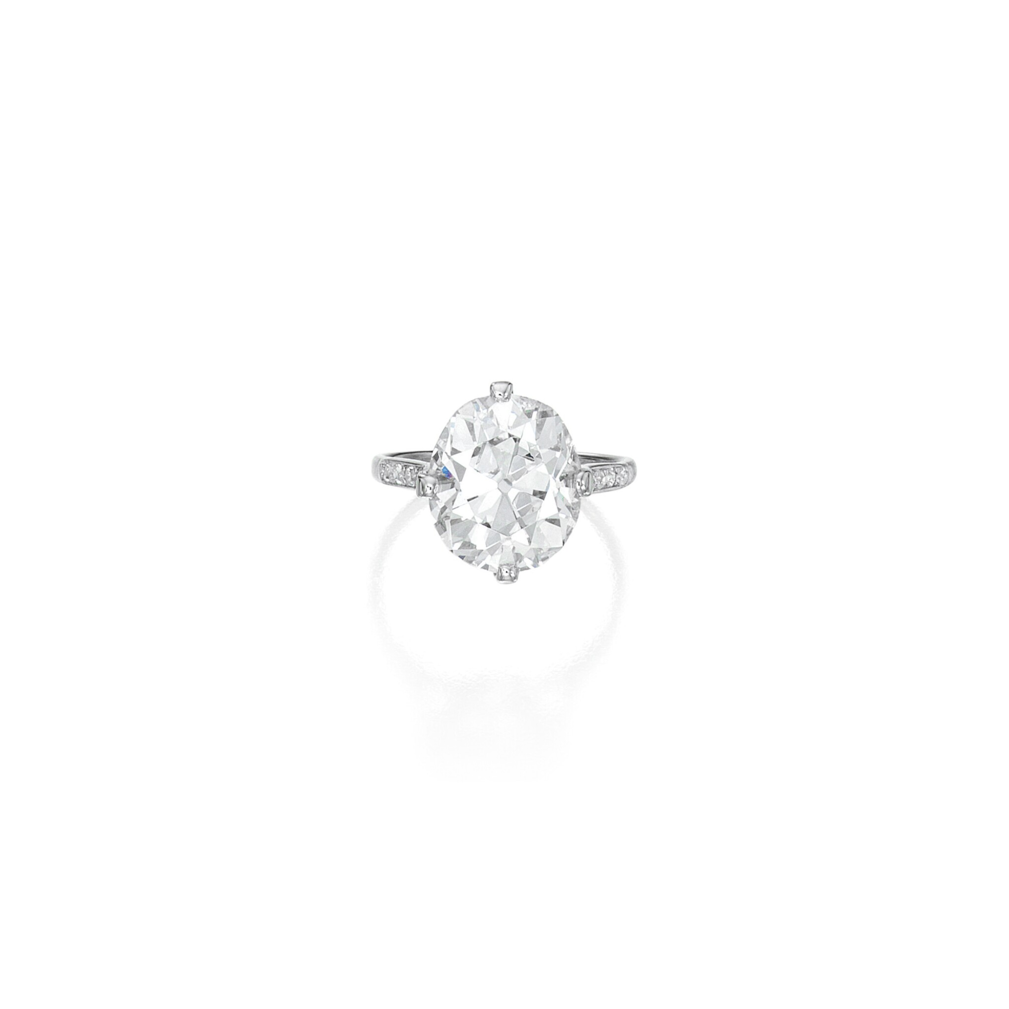 View full screen - View 1 of Lot 503. DIAMOND RING, CARTIER | 鑽石戒指,卡地亞.