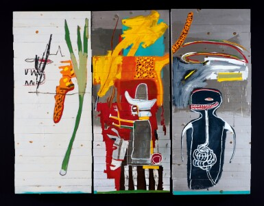 View 2. Thumbnail of Lot 15. Jean-Michel Basquiat 尚・米榭・巴斯基亞 | Untitled 無題.