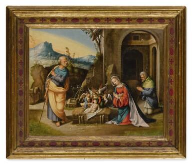 View 2. Thumbnail of Lot 110. Nativity           .
