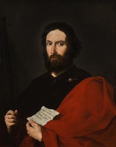 JUSEPE DE RIBERA, CALLED LO SPAGNOLETTO | Saint James the Greater  | 胡塞佩・德・里貝拉 - 或稱洛・斯帕尼奧萊托 | 《聖大雅各伯》