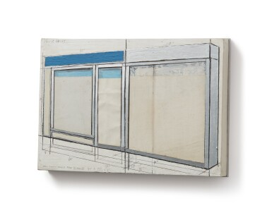 CHRISTO AND JEANNE-CLAUDE |  STOREFRONTS (PROJECT PART IV ANO III)