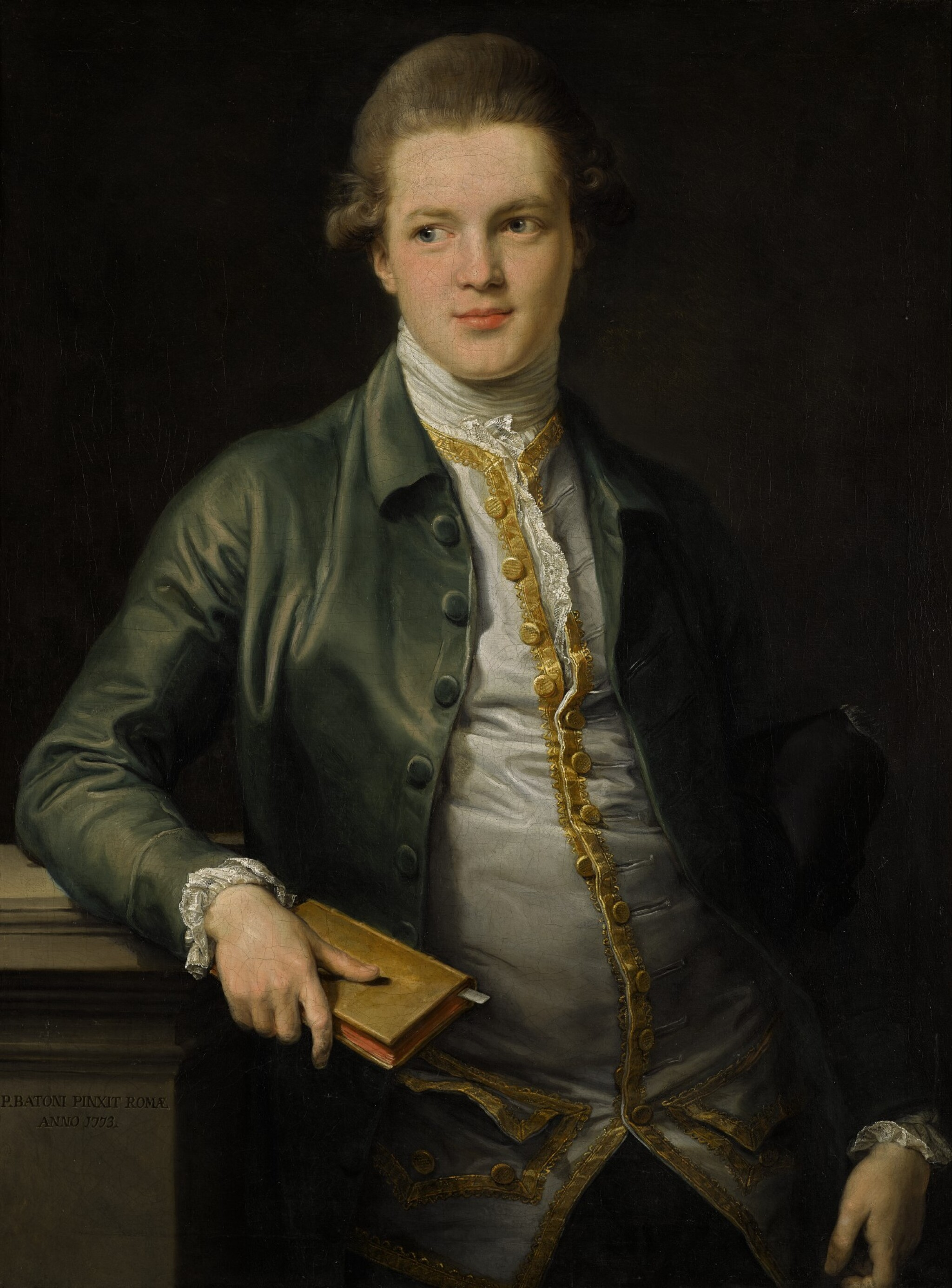 View full screen - View 1 of Lot 28. Portrait of Thomas Orde, later Orde-Powlett and 1st Baron Bolton (1746–1807) |《托馬斯・奧德(1746-1807年)肖像,後封奧德・寶勒及保頓男爵一世》.