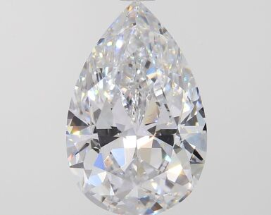 A 2.28 Carat Pear-Shaped Diamond, D Color, IF Clarity 2.28卡拉梨形鑽石,D色,內部無瑕(IF)