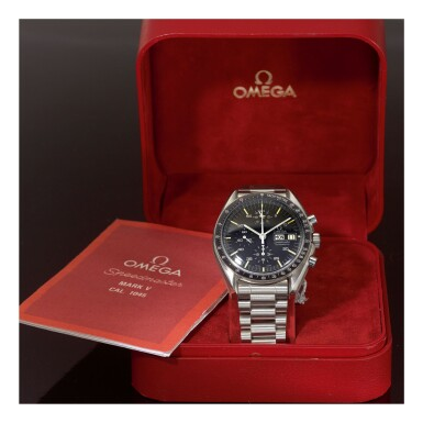 View 2. Thumbnail of Lot 19. OMEGA    SPEEDMASTER REF 376.0822 'HOLY GRAIL',  A STAINLESS STEEL AUTOMATIC CHRONOGRAPH WRISTWATCH WITH BRACELET, MADE IN 1988.