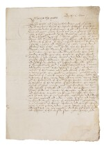 Queen Mary I., letter signed, 28 January 1554