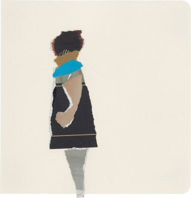 View 2. Thumbnail of Lot 801. DEBORAH ROBERTS | THE HISTORY OF EVERYTHING, PART THREE.