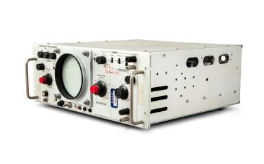 View 3. Thumbnail of Lot 30. Oscilloscope Telemetry Control Panel.