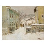 FRITS THAULOW | PRÆSTEGAARD I NORGE (CLERGY HOUSE IN NORWAY)
