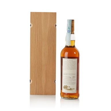 View 2. Thumbnail of Lot 29. The Macallan Fine & Rare 43 Year Old 52.9 abv 1958 .