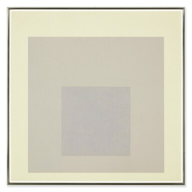 View 1. Thumbnail of Lot 113. Study for Homage to the Square: Shaded Shade   《向方形致敬習作:暗影》.