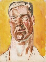FRANK DOBSON, R.A. | HEAD OF A MAN