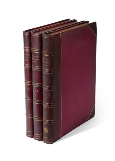 View 6. Thumbnail of Lot 160. Blouet | Expédition scientifique de Morée, 1831-1838, 3 volumes.