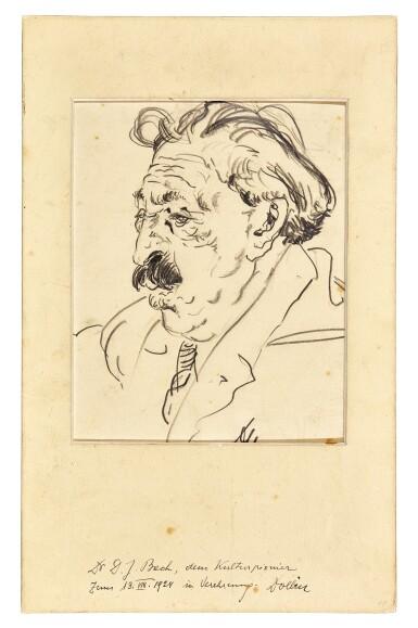 View 2. Thumbnail of Lot 92. Vienna. Autograph manuscripts by Bartok, Berg, Schoenberg, Strauss, Webern, Kokoschka, Schnitzler etc to D.J. Bach, 1924.