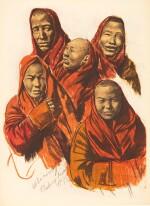Iacovleff | Dessins et Peintures d'Asie, [1934]