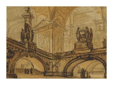 PIERRE MOREAU | INTERIOR OF A VAST PALACE