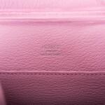 Hermès Mauve Sylvestre Plume II Mini of Chevre Leather with Palladium Hardware