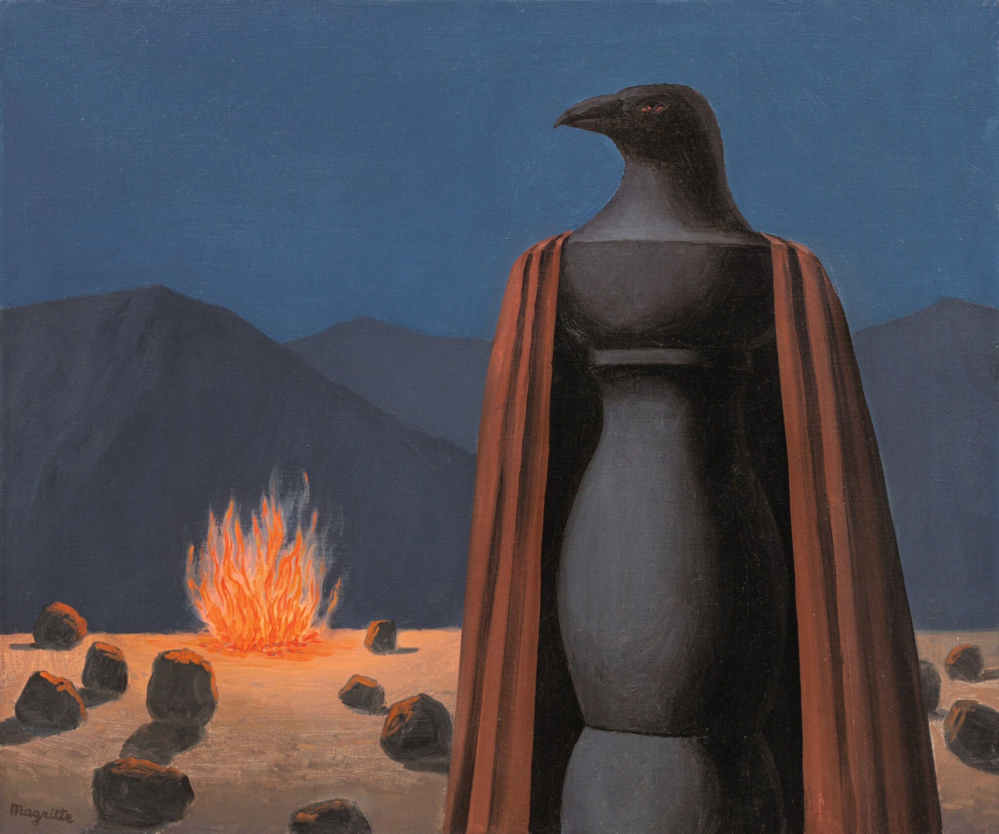 View full screen - View 1 of Lot 13. RENÉ MAGRITTE |  LE TEMPS JADIS.