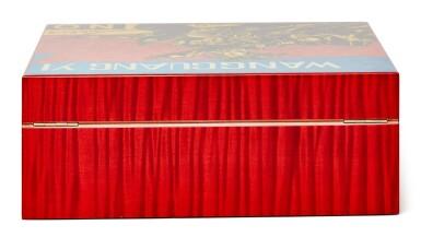 View 3. Thumbnail of Lot 3. Wang Guangyi 王廣義 X ELIE BLEU I Red Sycamore Humidor 紅色懸鈴木雪茄盒.