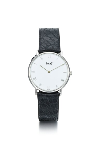 PIAGET | ALTIPLANO, REFERENCE 9035 N, A WHITE GOLD WRISTWATCH, CIRCA 2000