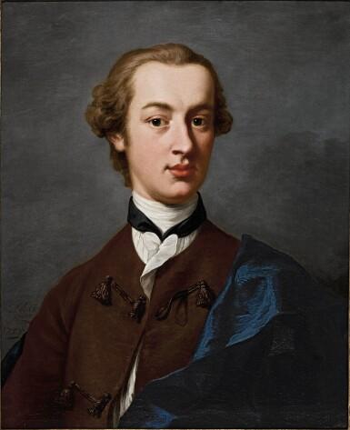 ANDREA SOLDI   Portrait of Jean-Francois Maximilian de Cerjat (1729–1802)