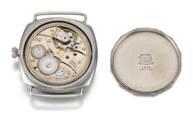 PANERAI/ROLEX,  ROLEX FOR PANERAI: RADIOMIR | REFERENCE 3646  MILITARY STAINLESS STEEL DIVER'S WATCH,  CIRCA 1943
