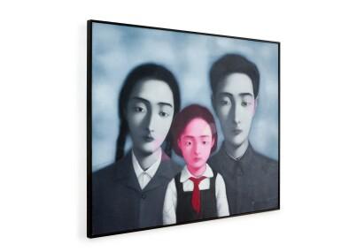 View 3. Thumbnail of Lot 1120. Zhang Xiaogang 張曉剛   Bloodline - The Big Family No. 1 1997 血緣:大家庭1號 1997.