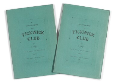 Onwhyn, 12 Illustrations to the Pickwick Club, 1894, 2 copies