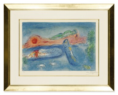 View 2. Thumbnail of Lot 10. MARC CHAGALL   DEATH OF DORCON (M. 320; SEE C. BKS. 46).