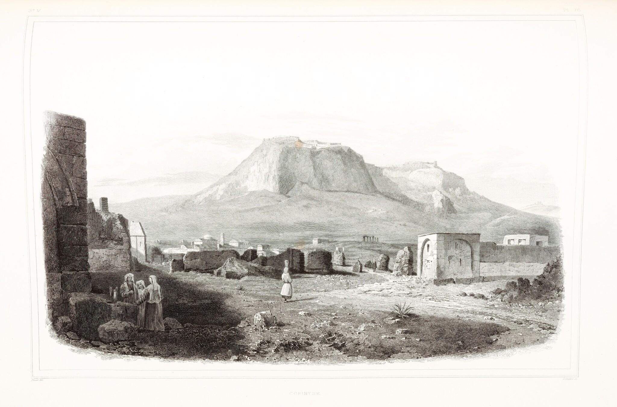 View full screen - View 1 of Lot 160. Blouet | Expédition scientifique de Morée, 1831-1838, 3 volumes.