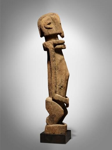 View 3. Thumbnail of Lot 60. Dogon Figure, Mali.