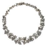 Diamond necklace, 1880s