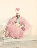 William Page (1794-1872) | Album of 58 watercolours of Turkish, Greek, Swiss and Italian views and figure studies