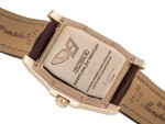BREITLING | FLYING B BREITLING FOR BENTLEY, REF R28362  PINK GOLD JUMP HOUR WRISTWATCH WITH MOTHER-OF-PEAR DIAL CIRCA 2008
