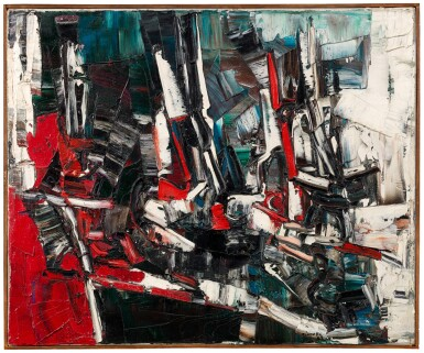 View 2. Thumbnail of Lot 45. JEAN-PAUL RIOPELLE  |  JONQUES.