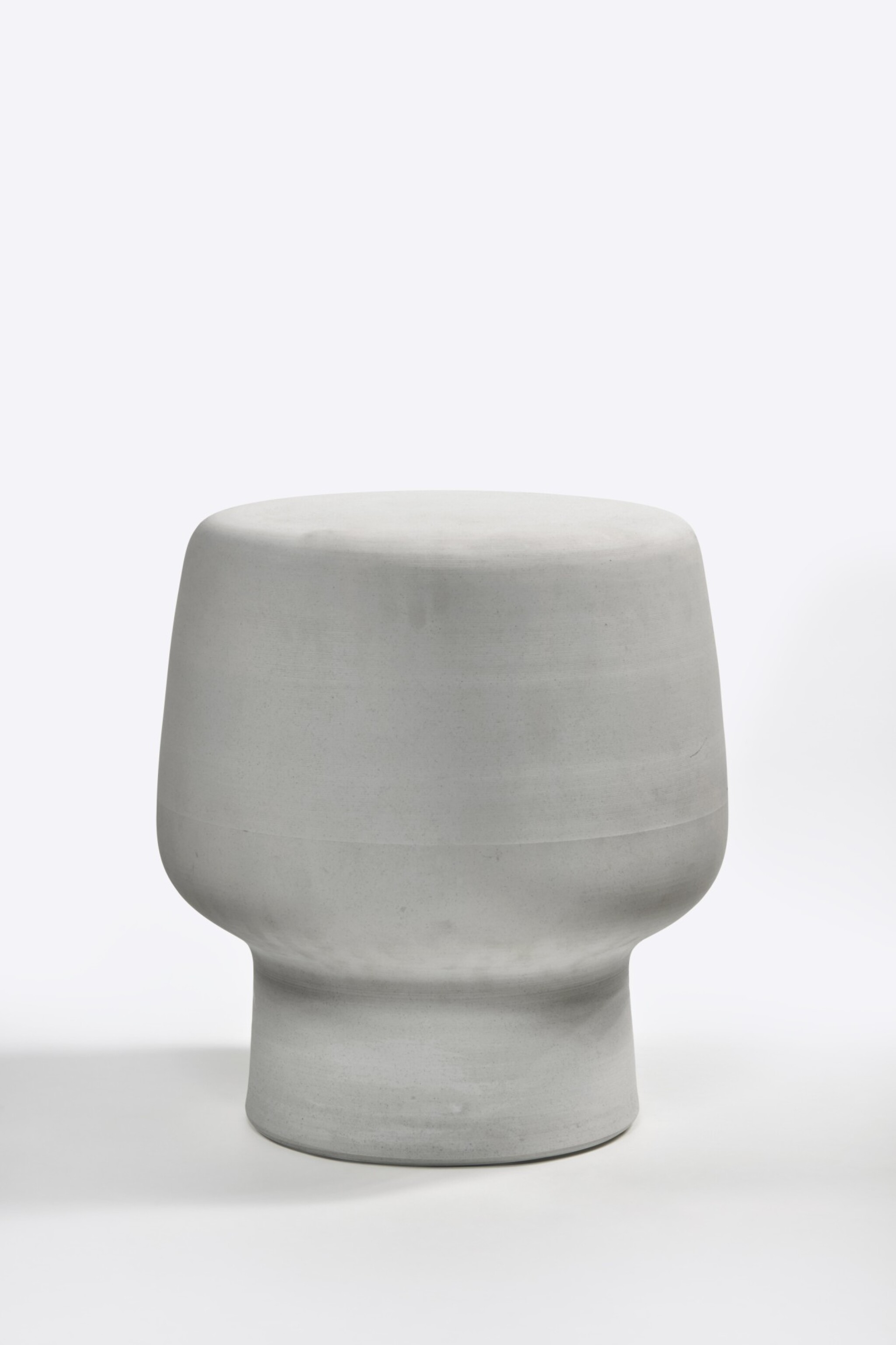 View full screen - View 1 of Lot 107. Serpentine Stool.