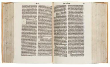 Rainerius de Pisis, Pantheologia, Venice, 1486, modern limp vellum