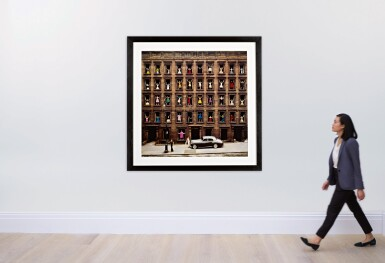 View 4. Thumbnail of Lot 67. Girls in the Windows, New York City.