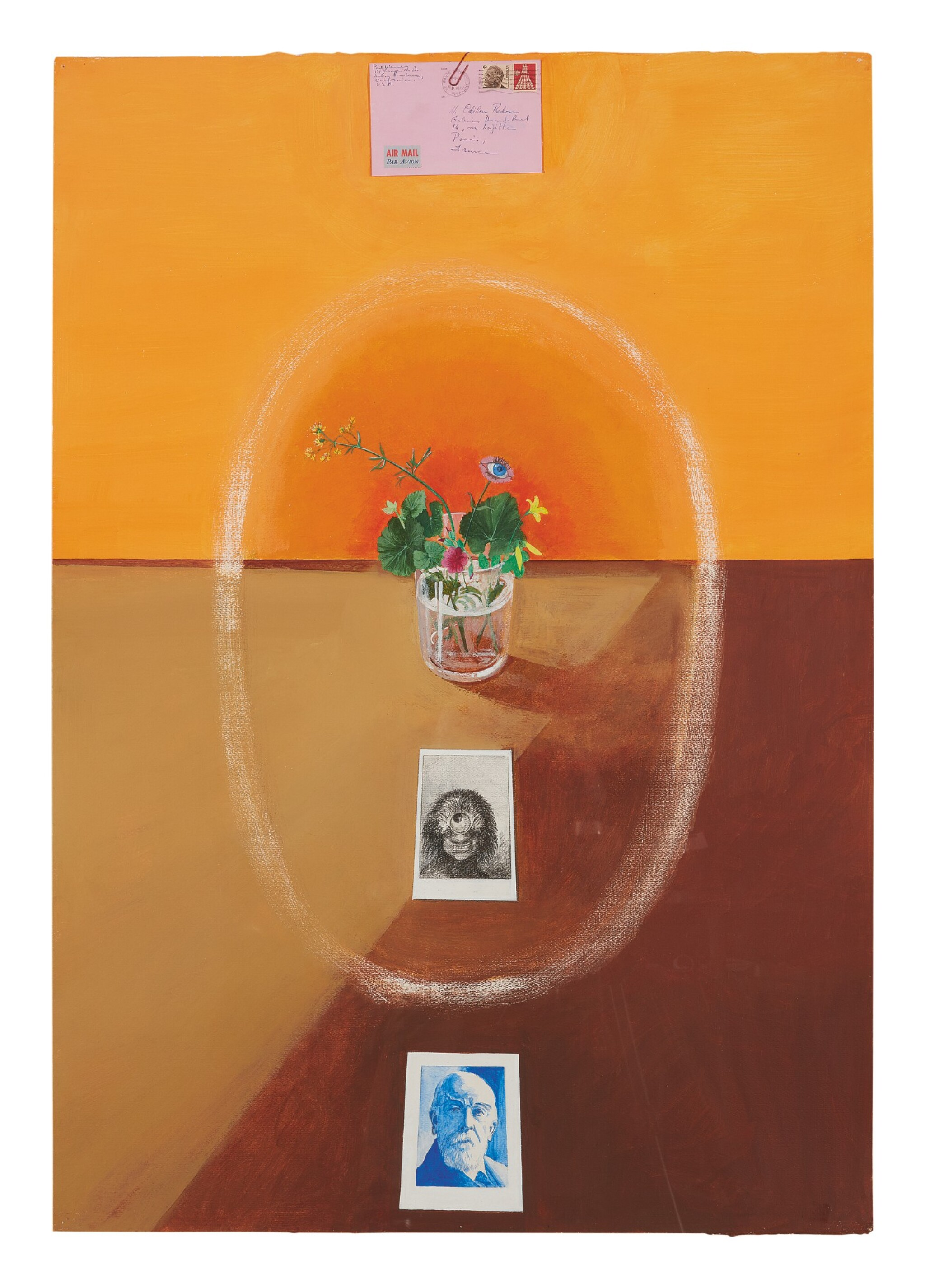 View 1 of Lot 414. PAUL WONNER |  HOMAGE TO ODILON REDON.
