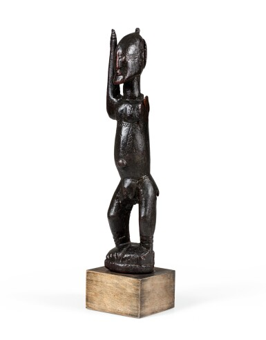 View 2. Thumbnail of Lot 15. Statue, Dogon Djennenké, Mali   Dogon Djennenke figure, Mali.