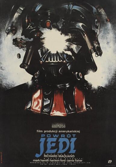 RETURN OF THE JEDI/POWROT JEDI (1983) POSTER, POLISH