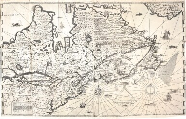 Champlain | Les voyages de la Novvelle France occidentale, dite Canada, 1640