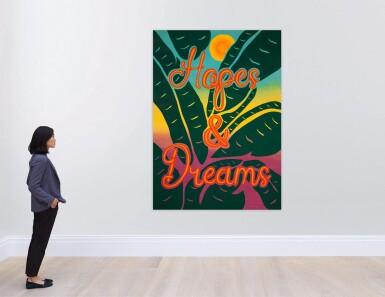 View 3. Thumbnail of Lot 1104. Joel Mesler 喬爾 · 梅斯勒 | Untitled (Hopes and Dreams) 無題(希望與夢想).