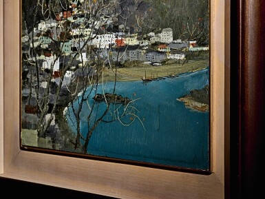 View 4. Thumbnail of Lot 1014.  WU GUANZHONG  吳冠中   SCENERY OF GUILIN 桂林景色.