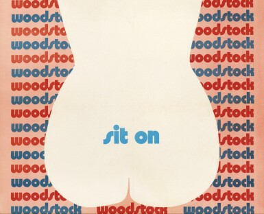 View 1. Thumbnail of Lot 163. Woodstock (1970) poster, US.