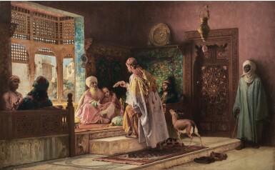 FREDERICK ARTHUR BRIDGMAN | THE MESSENGER