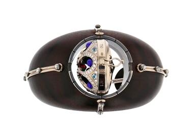 View 4. Thumbnail of Lot 6. Elie Top, Ebony, Gem-Set and Diamond Bracelet [Bracelet Ébène, Pierres de Couleur et Diamants], 'Desdémone'.