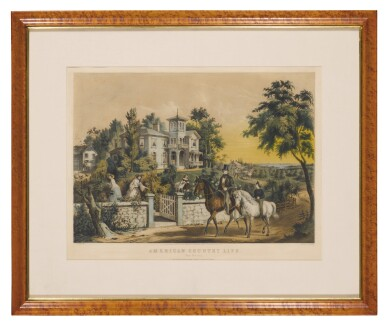 View 2. Thumbnail of Lot 1763. CURRIER & IVES (PUBLISHERS)   AMERICAN COUNTRY LIFE. MAY MORNING.